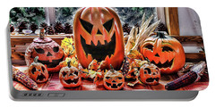 Halloween Display Portable Battery Charger by Wendy McKennon