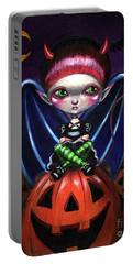 Halloween Little Devil Portable Battery Charger
