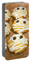 Halloween Little Monster Biscuits Portable Battery Charger
