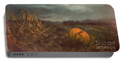 Halloween Mystery Under A Star And The Moon Portable Battery Charger