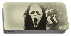 Halloween No 1 - The Scream  Portable Battery Charger