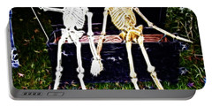 Halloween Skeleton Couple Portable Battery Charger