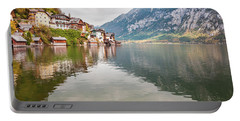 Portable Battery Charger featuring the photograph Hallstat by Geoff Smith