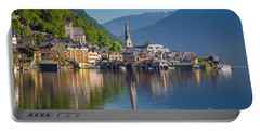Hallstatt Reflections Portable Battery Charger by JR Photography