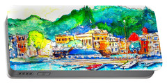 Halycon Days At The Blue Water Portable Battery Charger