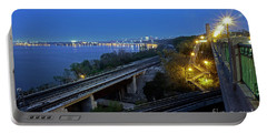 Hamilton Waterfront Nightscape Portable Battery Charger