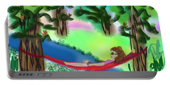 Hammock Under The Chihuahua Trees Portable Battery Charger
