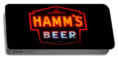 Hamm's Beer Portable Battery Charger by Susan  McMenamin