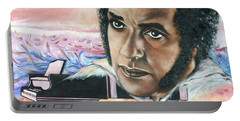 Hampton Hawes -jazz Pianist Portable Battery Charger