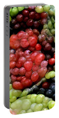Han Solo In Grapes Portable Battery Charger by Paul Van Scott