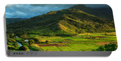 Hanalei Valley Taro Fields Portable Battery Charger