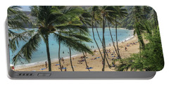 Portable Battery Charger featuring the photograph Hanauma Bay by Steven Sparks