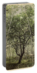 Hand Of God Apple Tree Poster Portable Battery Charger