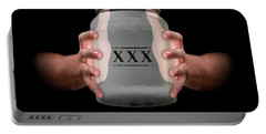 Hands Holding Moonshine Portable Battery Charger