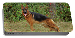 Portable Battery Charger featuring the photograph Handsome Rocco by Sandy Keeton