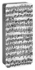 Handwritten Score Of Sonata No 1 For Solo Violin Portable Battery Charger