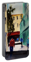 Hang Ah Alley1 Portable Battery Charger by Tom Simmons
