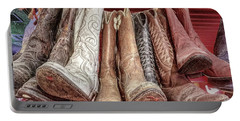 Hangin' Boots Portable Battery Charger