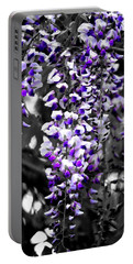 Hanging Purple Portable Battery Charger