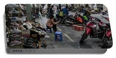 Hanoi Street Scene 1 Portable Battery Charger