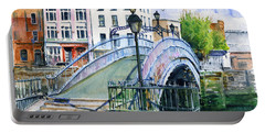 Ha'penny Bridge Dublin Portable Battery Charger