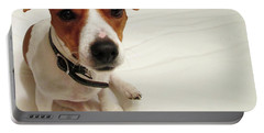 Happiness Is A Cute Puppy Portable Battery Charger