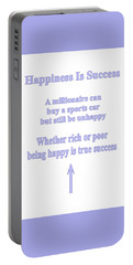 Happiness Is Success Portable Battery Charger
