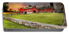 Happy Acres Farm At Sundown Portable Battery Charger