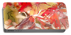 Happy Autumn Portable Battery Charger