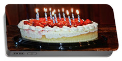 Portable Battery Charger featuring the photograph Happy Birthday by Debby Pueschel