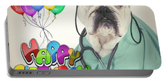 Happy Birthday From Your Dogtor Portable Battery Charger