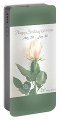 Happy Birthday Gemini Portable Battery Charger