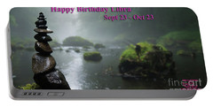 Happy Birthday Libra Portable Battery Charger