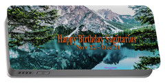 Happy Birthday Sagittarius Portable Battery Charger