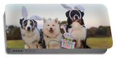Happy Easter Portable Battery Charger