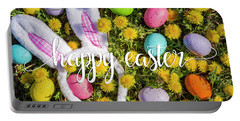 Portable Battery Charger featuring the photograph Happy Easter by Teri Virbickis