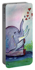 Happy Elephant Portable Battery Charger