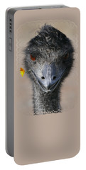 Happy Emu Portable Battery Charger by Ivana Westin
