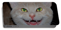Happy For Spring Cat Portable Battery Charger
