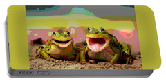 Happy Frog Portable Battery Charger by Charles Shoup