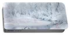 Portable Battery Charger featuring the photograph Happy Geese by Darren White