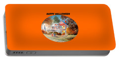 Happy Halloween Portable Battery Charger by Bill Holkham