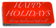 Happy Holidays - Day 1 Portable Battery Charger