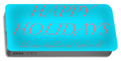 Happy Holidays - Day 3 Portable Battery Charger