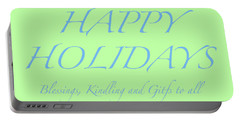 Happy Holidays - Day 4 Portable Battery Charger