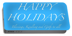 Happy Holidays - Day 5 Portable Battery Charger