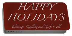 Happy Holidays - Day 6 Portable Battery Charger