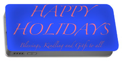 Happy Holidays - Day 7 Portable Battery Charger