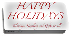 Happy Holidays - Day 8 Portable Battery Charger