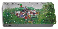 Happy Holidays From Cincinnati Ohio Portable Battery Charger